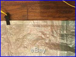 Cuben Fiber (Dyneema Composite Fabric) MYOG Flat Tarp 10x7