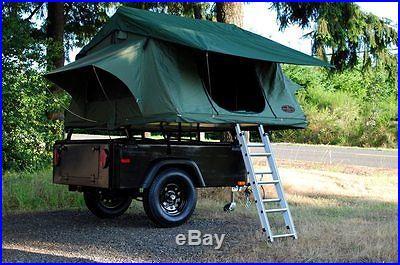 Custom Camping Tent Trailer
