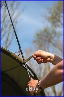 Cyprinus Base Bivvy 1 & 2 man Pram Hood Carp Fishing Bivvy shelter WITH OVERWRAP