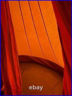 De Waard Albatros Dutch Canvas Pyramid Tent, Awning, Side Wing, Hanging Storage