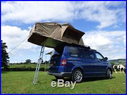 Deluxe 3 Man 1.4M 4X4 Roof Tent 2-3 Person + Annex + Ladder Overland Expedition