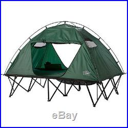 Double Tent Cot Rainfly Camping Two Person Hiking Instant Cover Dome Waterproof