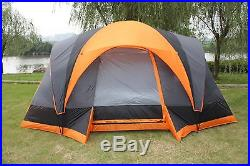Elite Waterproof Double layer Outdoor 8 Person Instant Camping Cabin Family Tent