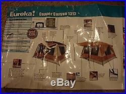 Eureka Copper Canyon 13' x 12' 8-Person Family 3-Season Tent NEW