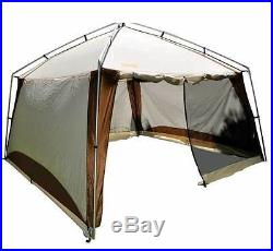 Eureka Northern Breeze 10 Beige/Brown Screen House Waterproof Dining Shelter
