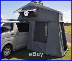 Extended Ventura Deluxe 1.4 Roof Tent + Annex Camping Overland Expedition VW 4x4