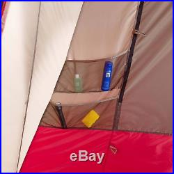 Extra Large 15 Person 3 Room Split Plan Instant Cabin Tent Outdoor Summer Camp