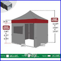 Ez POP UP Commercial Canopy 10x10 Wedding Party Tent Outdoor Event Patio Gazebo