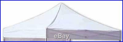 Ez Pop Up Canopy White Replacement Top 10 X 10 Caravan Tent