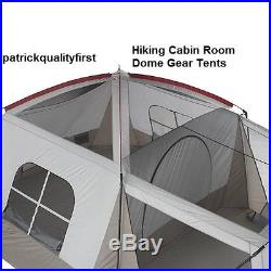 Family-8-Person Tent Camping Outdoor Instant Hiking Cabin Room Dome Gear Tents