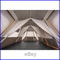 Family Cabin Tent Dome Tents for Camping Large 12 Person Bushnell Waterproof