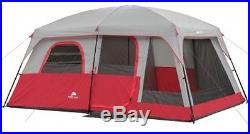 Family Camping Cabin 10 Person 2 Room Spacious Outdoor Comfortable Large Tent