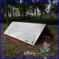 Folding Outdoor Emergency Tent/Blanket/Sleeping Bag Survival Camping Shelter