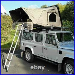 Forest Green RoofTrekk 3 Person Hard Shell Roof Camping Expedition Overland Tent