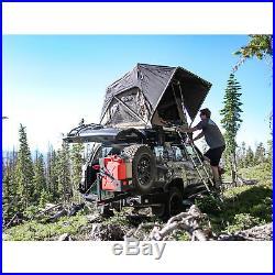 Freespirit Recreation Large Adventure Series Manual 55 Inch Roof Top Tent, Grey