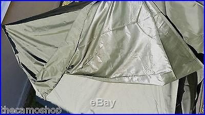 French military two man army surplus tent camping fishing waterproof hunting