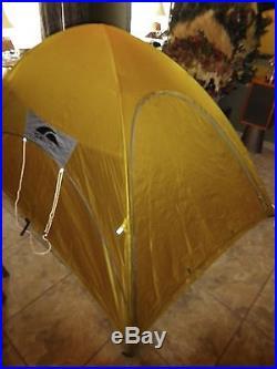 GoLite Utopia 2+ Shelter Floorless Tent 2-3 Person Yellow ULTRALIGHT