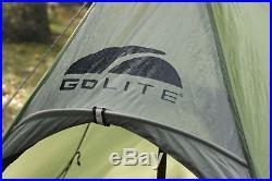 Golite shangri-la 2 in grün, neuwertig, firstzelt, ultralight