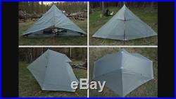 Gossamer Gear The One Tarp Tent Spinnaker Ultralight Backpacking 20 Ounces