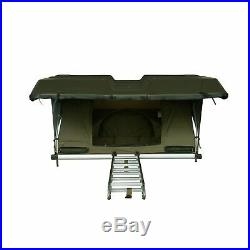 Green Pathseeker Solar Hard Shell Auto Expedition Roof Top Tent