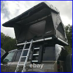 Grey Pathseeker Solar Hard Shell Auto Expedition Roof Top Tent