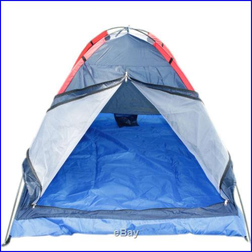 HLY-Z2003 Two Person Family Outdoor Hiking Portable Folding Camping Tent #C117