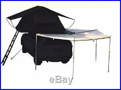 Hasika All-Weather Car Batwing Awning Side Rooftop Tent Sun Shelter Designed for