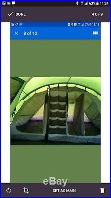 Hi Gear Voyager Elite 6 Man Tent Excellent condition