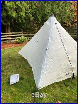 Hyperlite Mountain Gear HMG Ultamid 2 Pyramid Tent White