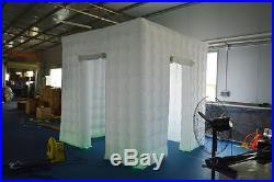 Inflatable Professional LED Photo Booth Tent 2.5M Weddings, Birthdays, Events