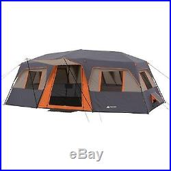 Instant Cabin Tent 12 Person 3 Room Family Outdoor Camping Sleep Rest Shelter