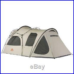 Kelty Tent Frontier 4 With Vestibule Camping 73 ft Tan 40814512
