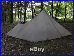 Kifaru paratipi tent WITH stove! Hunting, backpacking, camping outdoor stove
