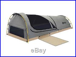 Kodiak Canvas One Person Backpacking Solo Waterproof Swag Tent With Pad 8101
