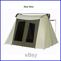 Kodiak Canvas Tent 6010 10x10 ft. Deluxe Flex-Bow 6 person Canvas Tent
