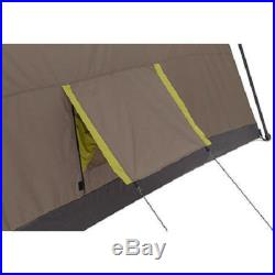 LARGE FAMILY CAMPING TENT OUTDOOR 10 PERSON 3 ROOM SURVIVAL GEAR SHELTER INSTANT