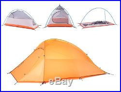 LIMITED 1 2 Man Person Tent Ultra Lightweight Camping Hiking Outdoor 1.7kg