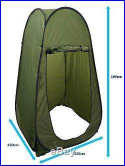 LW538 Green Pop Up Utility Camping Fishing Changing Room Shower Toilet Tent