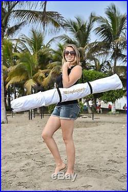 Large Beach Tent Cabana Canopy Umbrella Sun UV Shelter Camping Outdoor Hiking