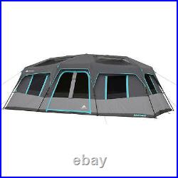 Large Camping Tent Outdoor Travel Family Cabin House 12 Person 3 Room 20 x 10 FT
