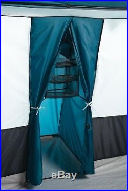 Large Family Camping Tent Cabin 12 person 20' x 12' Outdoor 3 Rooms Shelter Roof