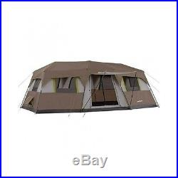 Large Family Tent 10 Person 3 Room XL Outdoor Cabin Camping Gear Hunting Shelter