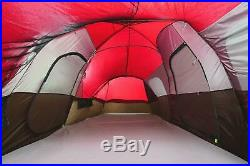 Large Tent Camping Outdoor Ozark Trail 3 Room 10 Person Waterproof Picnic Outing