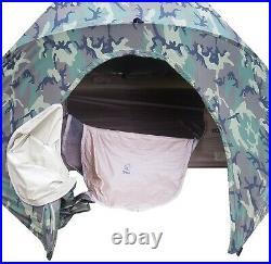 Litefighter Brand Usmc 2-man Combat Tent Shelter System Us Military Woodland Ln