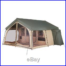 Lodge Cabin Spring Backyard Outdoor Camping Tent Shelter Campers 14 Person Home