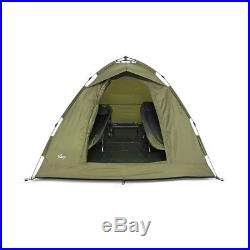 Lucx 2 Man Bivvy Ruck Zuck Zelt Campingzelt Karpfen Angelzelt Pop Up Zelt