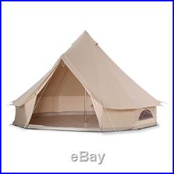Luxury 4 Meter Bell Tent Outdoor Large Eco Glamping Camping Teepee Renaissance