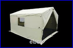 Luxury Outfitters Outdoor 6 Person Wall Tent 12' X 10' With PVC Floor Stove Jack