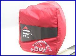 MSR Elixir 2 Backpacking Tent Red