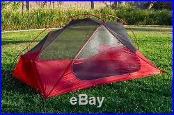 MSR Freelite 2 Backpacking Tent 3 Season 2 Person Ultralight